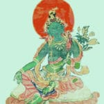Meditationsfokus - Gruene Tara