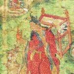 Maitreya als Moench Xuanzang